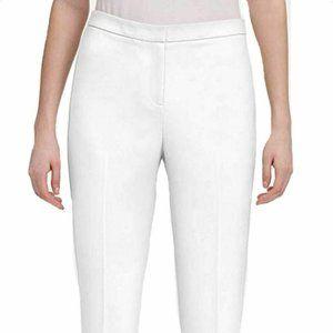 Calvin Klein Women's Set Waist Pant, Soft White